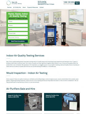 Air Quality Testing - Craft CMS