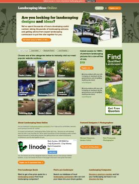 Landscaping Ideas Online - ExpressionEngine